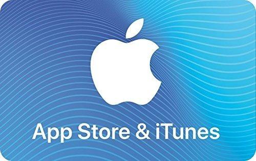 tarjeta app store & itunes card apple