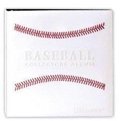 tarjeta blanca cosida coleccionistas de béisbol album (3 -i