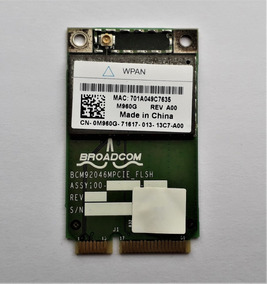 Tarjeta Bluetooth Mini Pci-e Broadcom Bcm9246mpcie_flsh Wpan