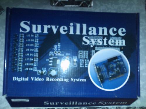 tarjeta capturadora video cctv kodicom 16 ch