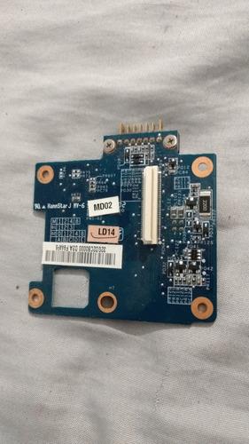 tarjeta centro de carga de sony vaio vgn-cs270t