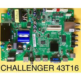 Tarjeta Challenger  Led 43t16 Smart T2