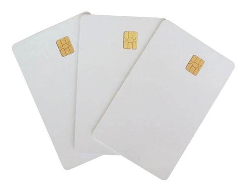 tarjeta con chip de contacto sle5542 / sle4442 x 10 unidades