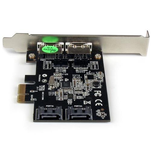 tarjeta controladora pci express startech.com 2 puertos