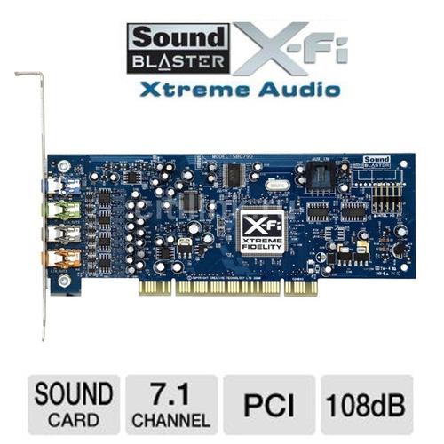tarjeta creative sound blaster x-fi sb0790 7.1 eax 24bits