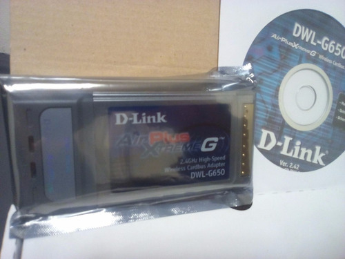 tarjeta d-link airplus xtreme - wireless pcmcia