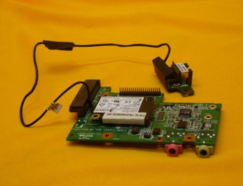 tarjeta de audio y conector sata para lanix neuron lt1 ipp6