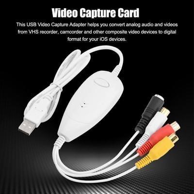 tarjeta de captura de 1568 del ezcap usb 2.0 video audio vhs