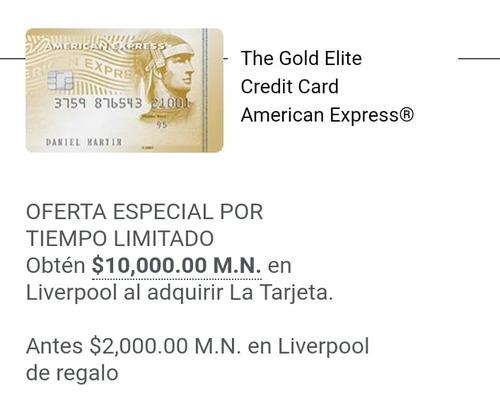 tarjeta de credito american express