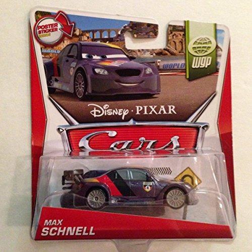 tarjeta de disney pixar cars wgp max schnell 415 poster dent
