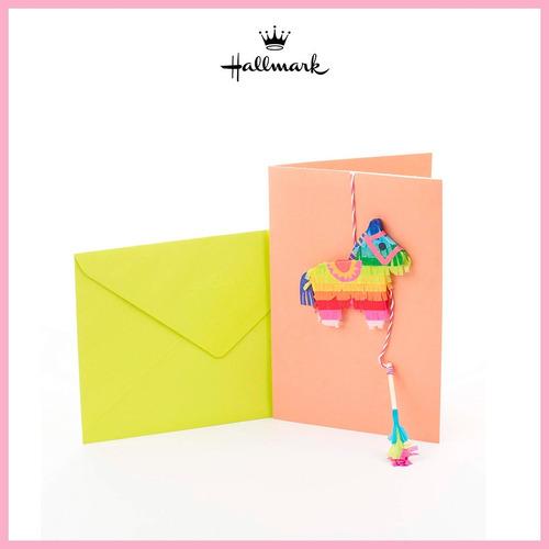 tarjeta de felicitación hope day piñata hallmark