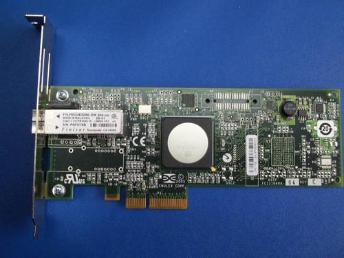 tarjeta de fibra hp 397739-001 pci express 4gb  1 puerto