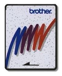 tarjeta de grabado marca brother para pe-150 y 170