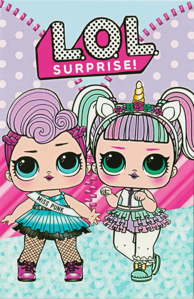Tarjeta De Invitacion Cumpleaños Lol Surprise Muñeca