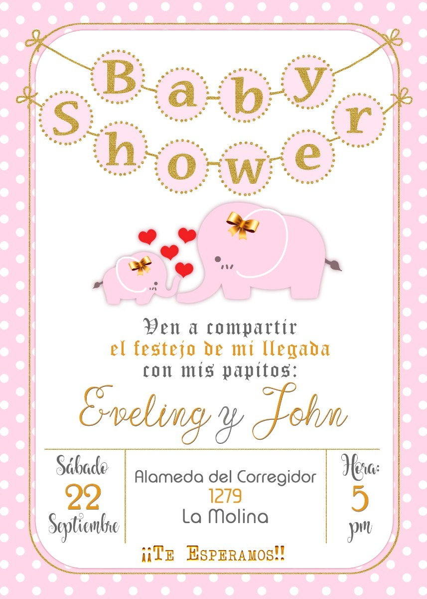 67a03f87c5632 tarjeta de invitación digital personalizada baby shower. Cargando zoom.