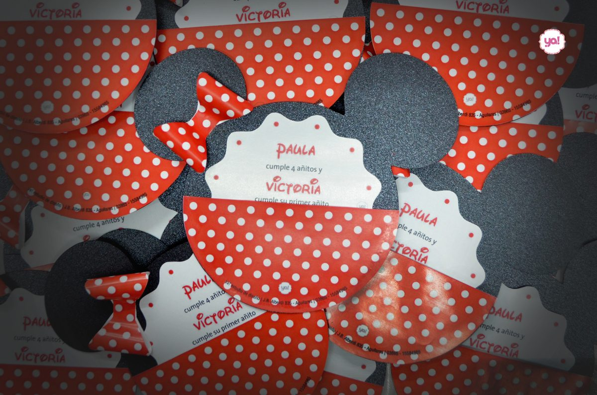 Tarjeta De Invitación Mickey Mouse Minnie Mouse Invitaciones