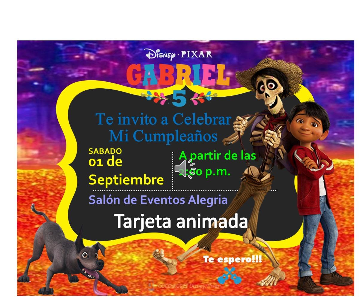 Tarjeta De Invitacion Virtual Animada Soy Luna Moana Y Mas