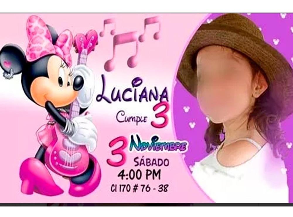 Tarjeta De Invitacion Virtual Frozen Personalizada