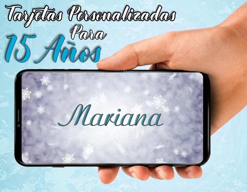 Tarjeta De Invitacion Virtual Video De 15 Años