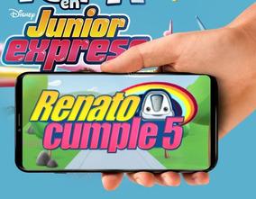 Tarjeta De Invitacion Virtual Video De Junior Express
