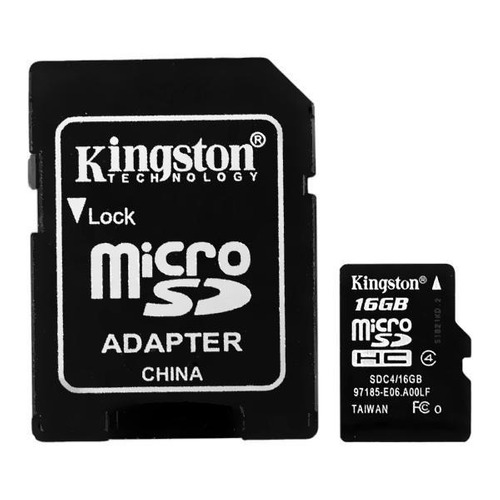 tarjeta de memoria 16gb micro sd nuevo kingston