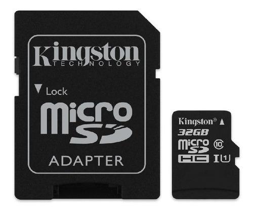 tarjeta de memoria kingston 32gb clase 10 - kingston