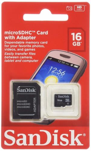 tarjeta de memoria micro sd 16gb