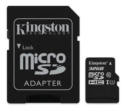 tarjeta de memoria micro sd 32gb clase 10 adaptador sd