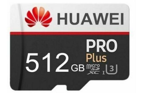 tarjeta de memoria micro sd 512 gb huawei + adaptador usb