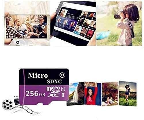 tarjeta de memoria micro sd sdxc de 256 gb clase de alta vel