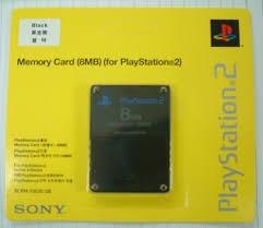 tarjeta de memoria para play 2 8mb