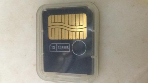 tarjeta de memoria smart media (128 mb. la mas grande)