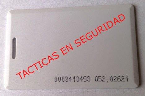 tarjeta de proximidad rfid em control de acceso 125 khz