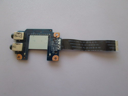 tarjeta de puertos  audio lenovo g475