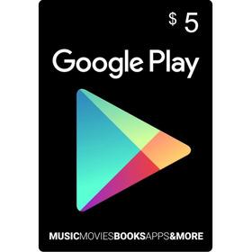 Tarjeta De Recarga 5 Usd Para Google Play Store - Free Fire