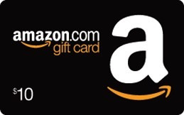 tarjeta de recarga para amazon (gift card usa) $10