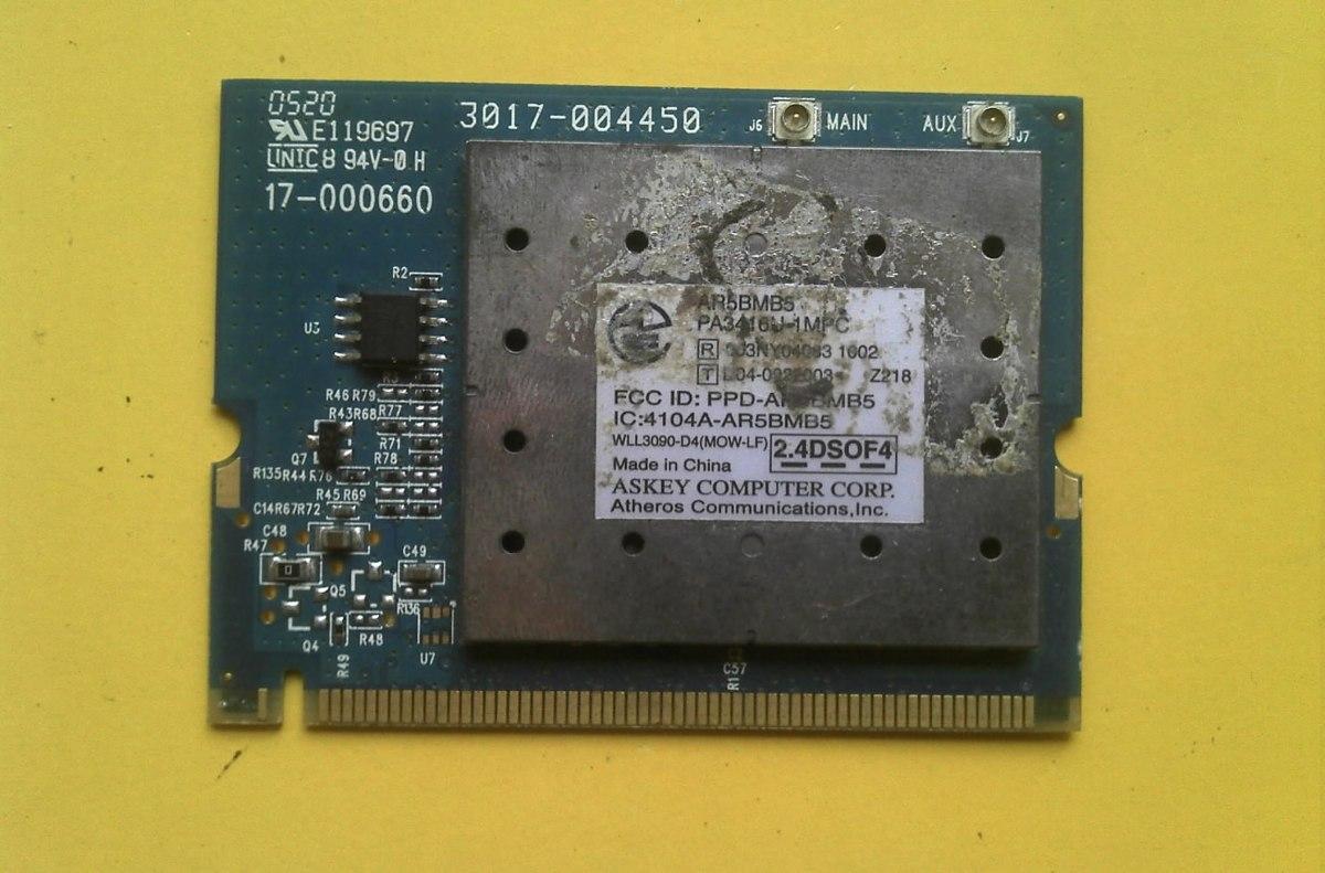 Acer atheros ar5bmb5 xp drivers