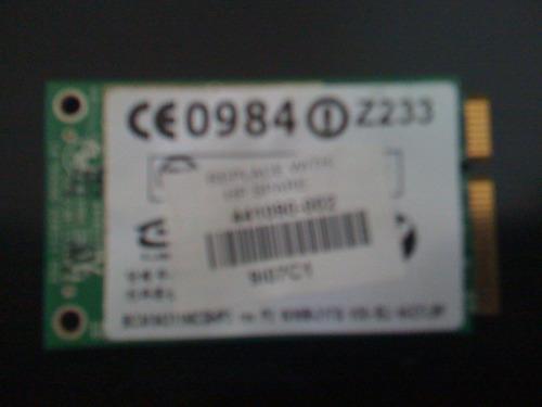 tarjeta de red inalámbrica 441090-002