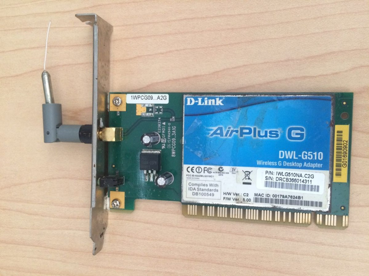 D-link airplus g dwl-g510 driver download xp.