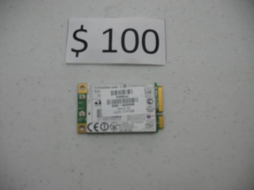 tarjeta de red inalambrica modelo:459339-002