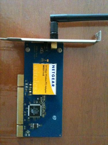 tarjeta de red inalámbrica pci netgear wg311v3 vv4