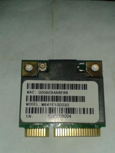 tarjeta de red inhalambrica de laptop