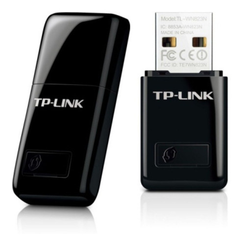 tarjeta de red mini usb inalámbrico n 300mbps tl-wn823n