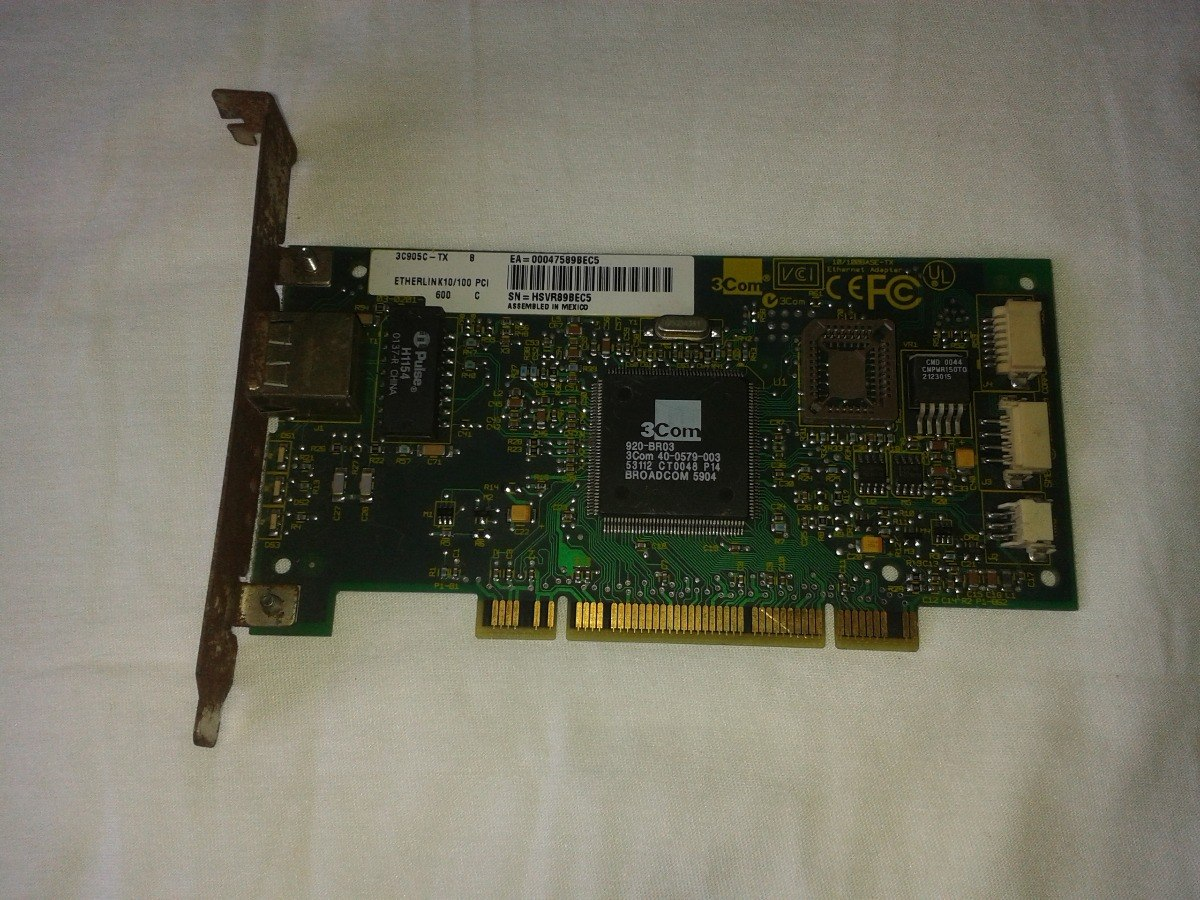 3COM FAST ETHERLINK XL PCI TX WINDOWS XP DRIVER