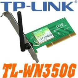 tarjeta de red pci inalambrica tplink tl-wn350g 802.11g 54 m