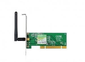 tarjeta de red pci tp-link tl-wn751nd 150mbps de antena remo