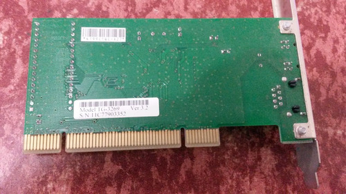 tarjeta de red t-plink tg3269 pgi  *93 373
