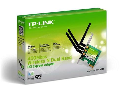 tarjeta de red tp-link tl-wdn4800 450 mbps n dual band
