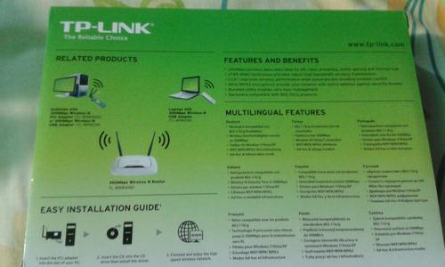tarjeta de red tp-link tl-wn851nd nueva sellada