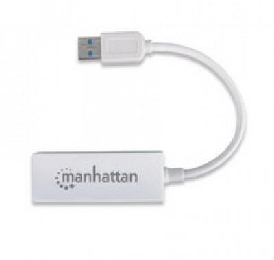 tarjeta de red usb - ethernet manhattan - usb 2.0, rj-45, ma